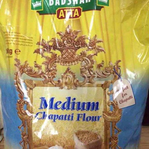 Badshah medium chapati flour- atta, 10kg for £2 @Morrison