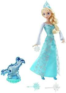 Disney Frozen Ice Magic Elsa Doll £8.99 + Free delivery at eBay / Argos