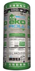 B & Q KNAUF EKOROLL LOFT INSULATION HALF PRICE NOW £9 (free C&C)