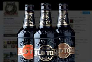 Buy two cases of Old Tom Ale and get 40% off £33.90 @ Robinsons Brewery