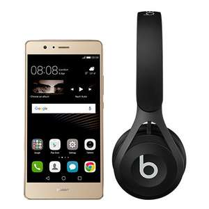 Huawei P9 lite Gold or Black + Beats EP Headphones Was £169.99 ! Now £179.99 (minimum top up increased to £20)  @ EE