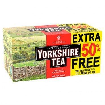 240 Yorkshire Teabags £4 @ Poundland