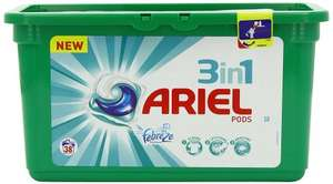 Ariel 3-in-1 With Febreze Washing Capsules 114 Washes - Pack of 3 £18 prime / £22.75 non prime @ Amazon