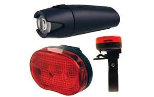 Smart 4 Lux Front and Rear Bike Light Set £3 @ Planet X (£6.95 inc. del)