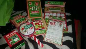 Elf (like elf on shelf) accessories from 99p @ Card Factory