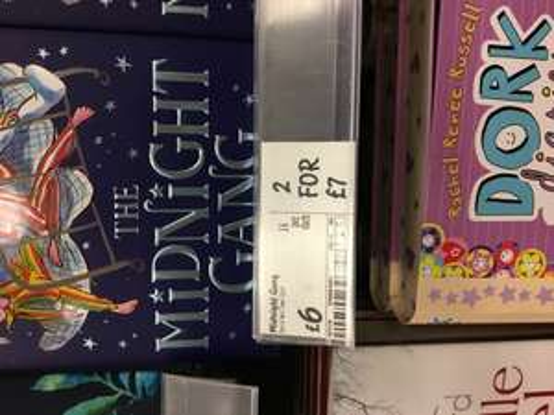 The midnight gang. New David walliams book £6 or 2 for £7 @ Asda