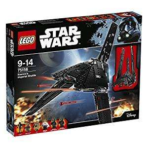 LEGO Star Wars 75156 Krennic's Imperial Shuttle (33% off RRP £79.99) Amazon Prime