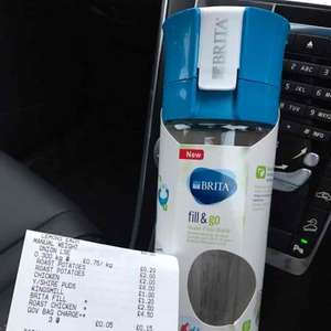 Brita 'fill & go' water filter bottle reduced from £15.00 to £2.50 in store @ Tesco Harlow Edinburgh Way