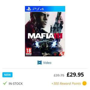 mafia 3 PS4 £29.95 @ game collection
