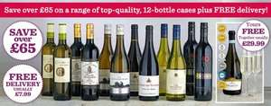 BBC Good Food Wine Club in partnership with Laithwaite's  £52.68/12 bottles plus free delivery plus free wine glasses and prosecco worth £29.99 @ BBC good food club