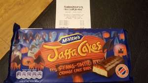 Jaffa Cake Bars 30p at Sainsbury's -  Dartford