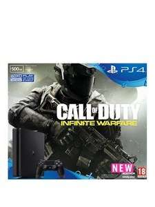 PlayStation 4 Slim 500Gb Black Console with Call of Duty: Infinite Warfare - £229.99 @ Very (+ £50 back on 28th December)