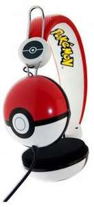 pokemon pokeball headphones £9.99 at Rymans