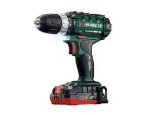 Parkside 20v Li-ion Cordless drill £39.99 @ Lidl from 10/11/16