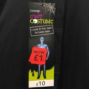 Asda / George All Variety Of Halloween Costumes (Children, Men, Women) Reduced to £1