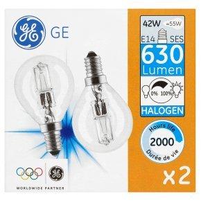 2 GE halogen twinpacks (4 light bulbs) for £4 @ Waitrose (usually £3.5/pack)