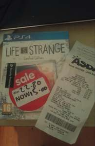 Life Is Strange: Limited Edition (PS4/X1) £15 at ASDA instore