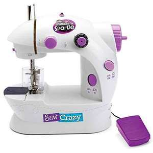 Shimmer and Sparkle 17524 Sew Crazy Sewing Machine Set  £21.80 Amazon