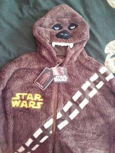 Star Wars Chewbacca Onesie Adult sizes S-2XL £15 (kids sizes £11) @ Primark