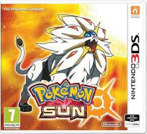 Pokemon sun £30.99 pre order at coolshop