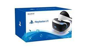 Sony PlayStation VR on Amazon* - £332.49 (Delivery expected early 2017)