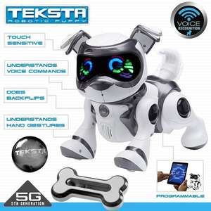 Teksta Voice Recognition Robot Puppy (potentially £36.66 in Argos' 3 for 2 deal) - £54.98