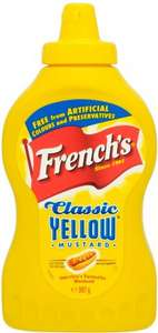 French's Classic Yellow Mustard (397g) was £1.85 now £1.00 @ Sainsbury's