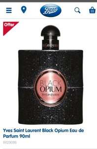 Boots Black Opium 90ml EDP £69.30 PLUS £13 worth of points