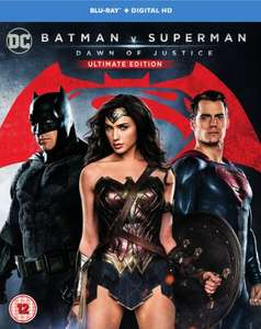 Batman v Superman: Dawn of Justice Blu-ray £9.99 Delivered @ Zavvi