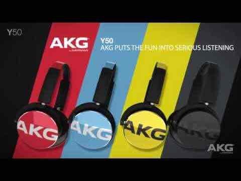 Recertified/Refurbished AKG Y50 Portable Headphones £39.99 @ Harman