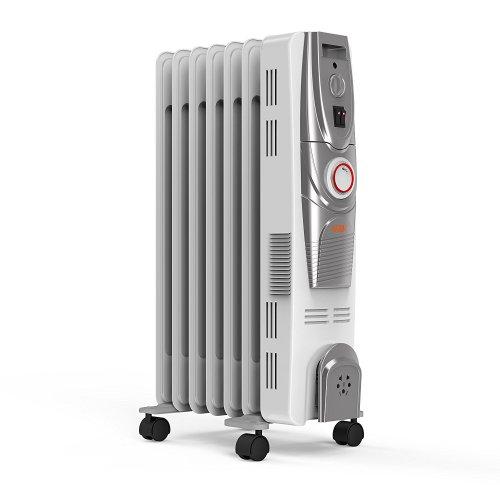 Vax ACH1V101 Power Heat Oil-Filled Radiator, 1500 W, White/Silver Spray £39.99 @ Amazon