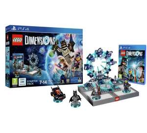 All Lego Dimensions Starter Packs £29.99 @ Argos - PS3/PS4/Xbox One/Wii U
