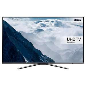 "Samsung UE55KU6400 HDR (8-bit) 4K Ultra HD Smart TV, 55"" with Freeview HD/Freesat HD, Playstation Now & Active Crystal Colour £699 @ John Lewis"