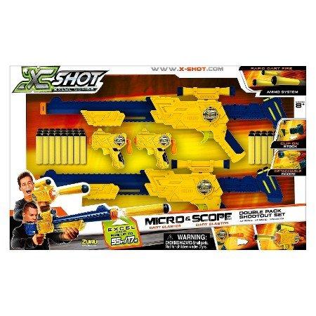xshot combo double scope & mirco £5.00 Tesco St Helens
