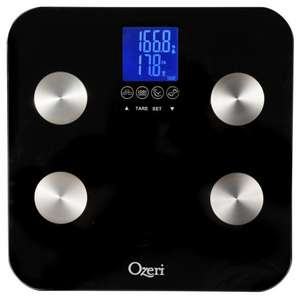 Ozeri Touch Total Body Bathroom Scale £23.99 normally £34.99 Amazon (daily deal)