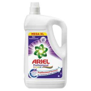 Ariel colour laundry liquid mega XL 5 litres (100 washes) £10.99 @ Costco