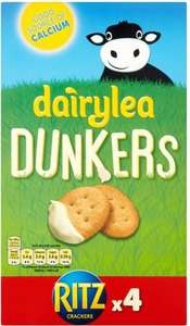 Dairylea Dunkers With Ritz x4 ONLY £1 FROM £2.24 55% OFF!!! @ Asda