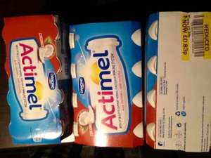 Coconut Actimel 8 pack 83p from £2.75 @Tesco