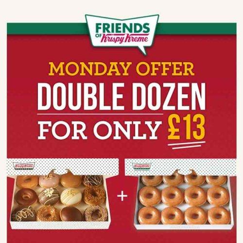 KRISPY KREMES - Double Dozen for £13