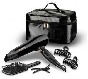 BaByliss Sheer Glamour Limited Edition Hairdryer Gift Set RPR £49.99 - £19.99 @ Argos