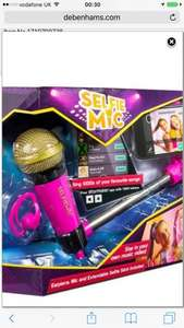 Selfie Mic at Debenhams £16 down from £20