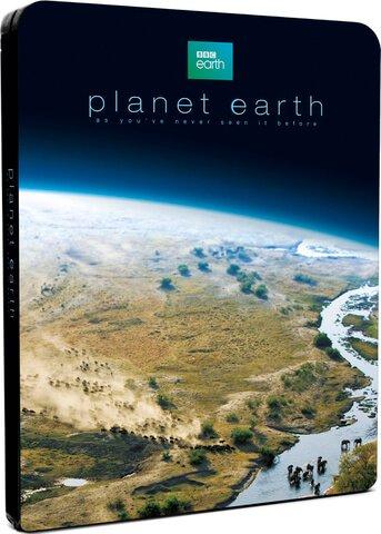 BBC Planet Earth Blu-Ray steelbook £14.99 @ Zavvi delivered (limited edition 1/2000) (£32 on Amazon) David Attenborough nature + quidco