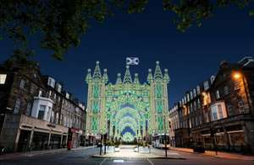 Edinburgh Christmas Street of Lights Booking Now Open.