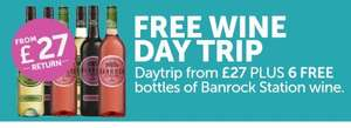 Dover-Calais car & passengers day return + 6 bottles of wine - £27 @ P&O Ferries