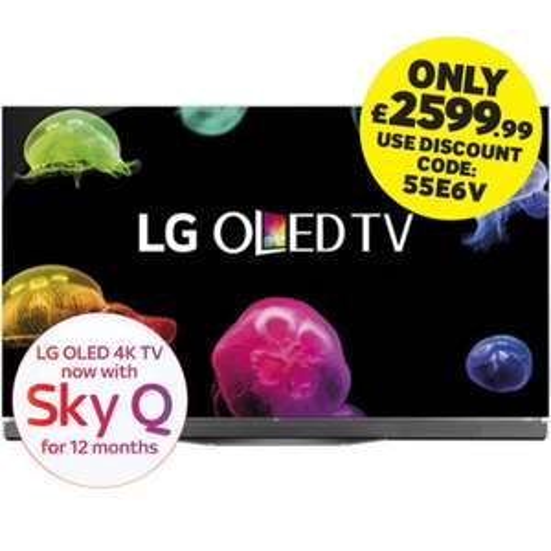 LG OLED 55E6V 55-inch 4K Smart TV - £2599.99 @ Martin Dawes