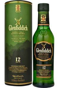 2x 35cl Glenfiddich 12 y/o (equivalent to a normal size bottle) £20 or £18 each @ Ocado