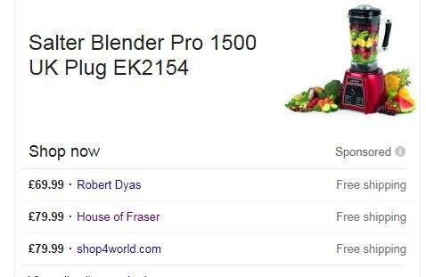 Salter Blender Pro 1500 Red £69.99 @ Robert Dyas - Free c&c
