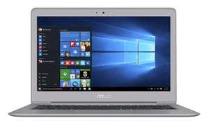 ASUS Zenbook UX330UA-FB025T 13.3 inch Notebook (Intel Core i5-6200U, QHD 3200 x 1800 Screen, 8 GB RAM, 256 GB SSD, Windows 10, Bluetooth 4.0) - Grey/Metal at Amazon for £749.99