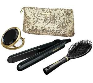BaByliss Sheer Glamour Hair Straightener Set LESS THAN 1/2 PRICE £19.99 WAS £59.99 ARGOS