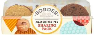 Border Biscuits Sharing Pack (400g) was £2.99 now £2.00 @ Tesco